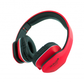 HI-PLUS H111F On-Ear Wired Headphone (Red)