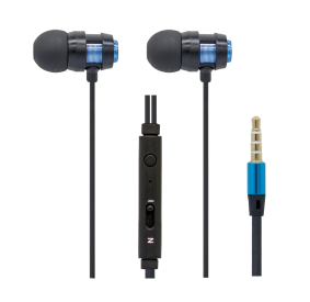 HI-PLUS H105F Stereo Handsfree with Mic (Blue)
