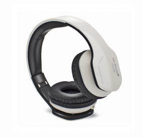 HI-PLUS H111F On-Ear Wired Headphone (White)
