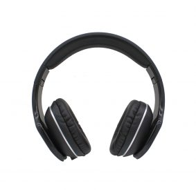 HI-PLUS H111F On-Ear Wired Headphone (Black)