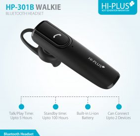 HI-PLUS WALKIE Bluetooth Headset