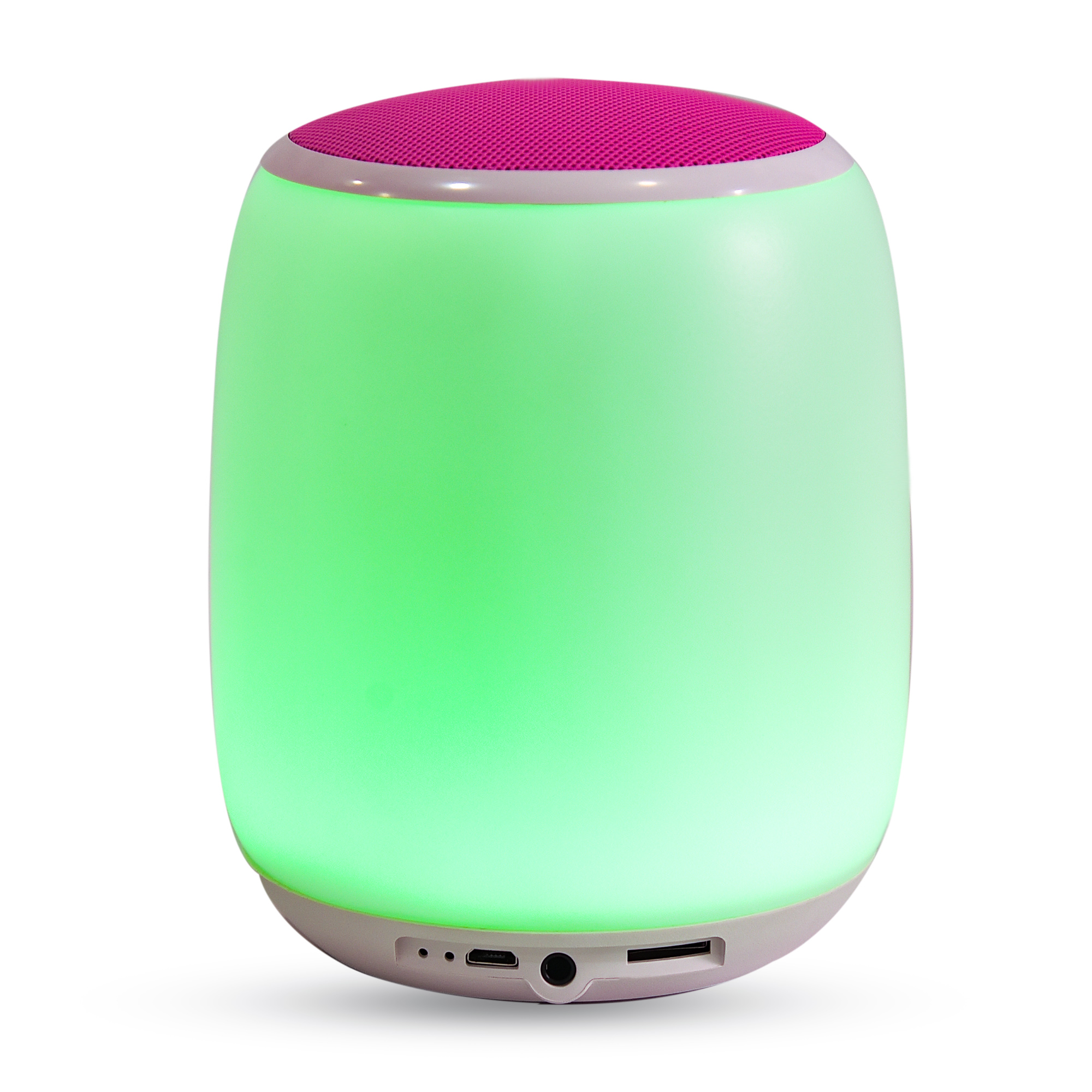 Portable Wireless Speaker with 4 Watt Touch Lamp