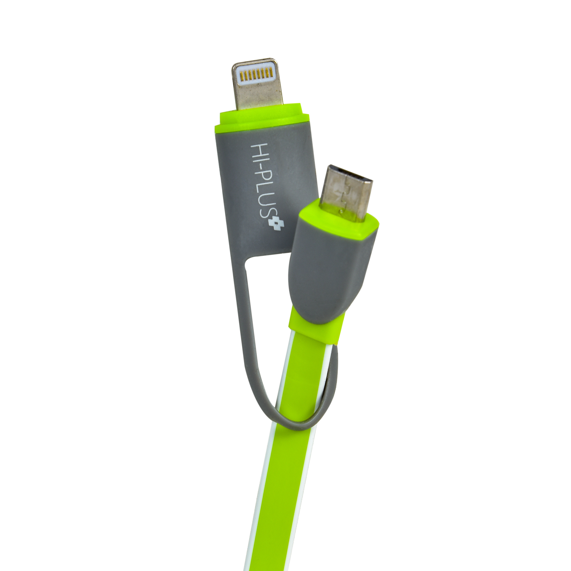 Lightning Fast 2 in 1 Data Cable for iPhone and Android