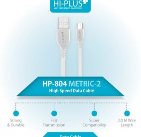 HI-PLUS METRIC-2 High Speed 2M Micro USB Cable