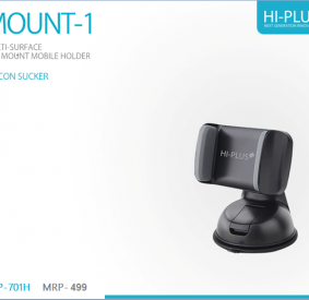 HI-PLUS Car Mobile Holder for Windshield