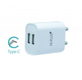 HiPlus Socket C Pro Quick Charger with 2 USB Port