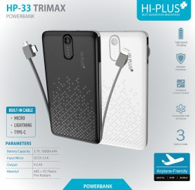 HI-PLUS HP-33 TRIMAX 10000MAH