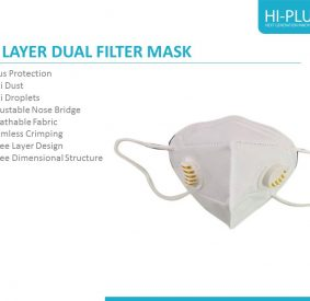 5 LAYER DUAL FILTER KN95 MASK
